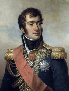 Marshal Marmont French Commander at the Battle of Salamanca on 22nd July 1812 during the Peninsular War