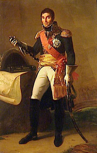 Marshal André Massena, Prince of Essling and Duke of Rivoli French commander at the Battle of Busaco on 27th September 1810 in the Peninsular