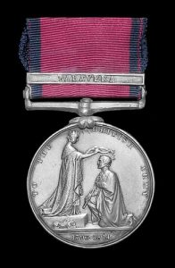 Military General Service medal 1793-1814 with clasp for the Battle of Talavera on 28th July 1809 in the Peninsular War