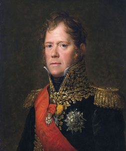 Marshal Ney: Battle of Waterloo on 18th June 1815: picture by Francois Gerard: buy this picture