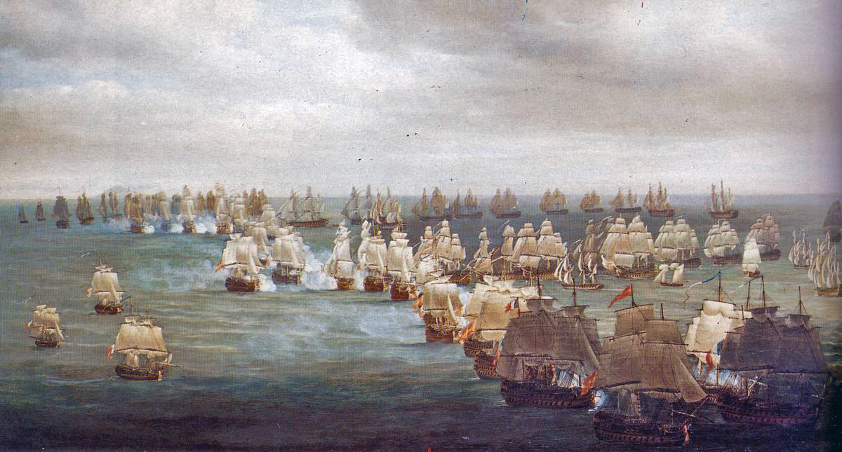 Image result for britain wins battle of trafalgar
