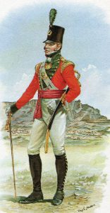 Light Company Officer 87th Regiment: Battle of Talavera on 28th July 1809 in the Peninsular War