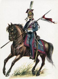 Polish Lancer of the Guard: Battle of Waterloo on 18th June 1815