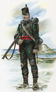 95th Rifles: Battle of Corunna on 16th January 1809 in the Peninsular War