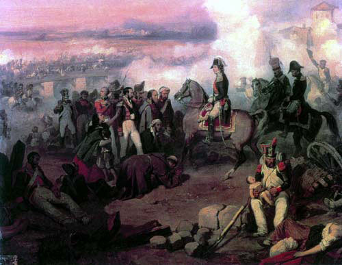 Marshal Soult the French commander at the Battle of the Crossing of the Douro on 16th May 1809 in the Peninsular War