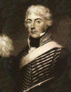 Lieutenant Colonel Charles Taylor of the 20th Light Dragoons killed at the Battle of Vimeiro on 21st August 1808 in the Peninsular War
