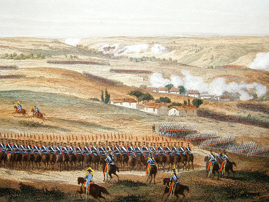 Battle of Fuentes de Oñoro 3rd to 5th May 1811 in the Peninsular War