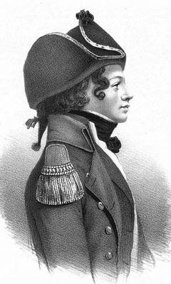 Peter Willemoes captain of the Danish ship Gerner Radeau 24 guns: Battle of Copenhagen on 2nd April 1801 in the Napoleonic Wars