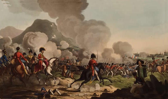 Battle of Salamanca on 22nd July 1812 during the Peninsular War: buy this picture