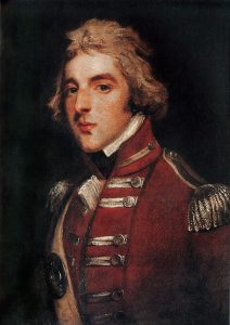 Lord Wellington as a young officer: Battle of Busaco on 27th September 1810 in the Peninsular