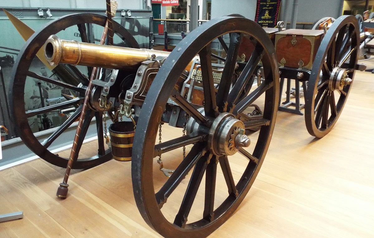 East India Company 9 pounder field gun: Battle of Ferozeshah on 22nd December 1845 during the First Sikh War