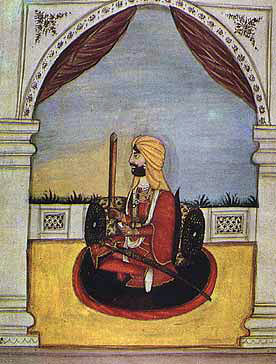 Ranjodh Singh Sikh commander at the Battle of Aliwal on 28th January 1846 in the First Sikh War
