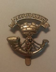 Jellalabad Badge of the 13th Prince Albert's Own Light Infantry: Siege of Jellalabad from 12th November 1841 to 13th April 1842 during the First Afghan War