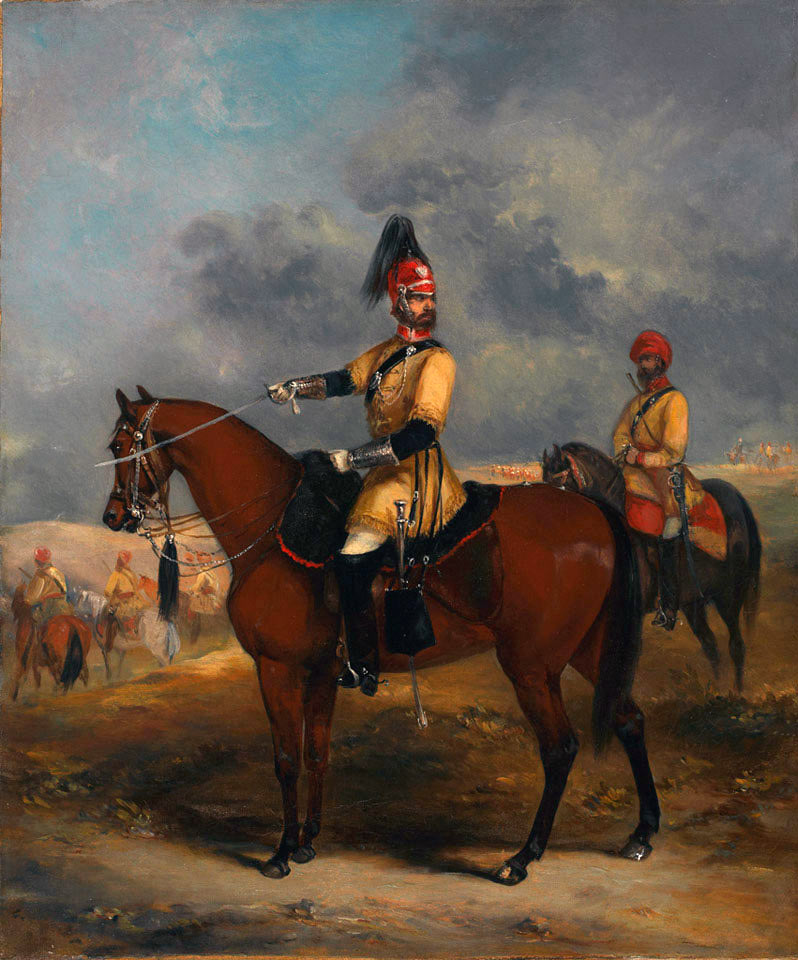 Skinner's Horse 1st Bengal Irregular Cavalry: Battle of Kabul 1842 in the First Afghan War