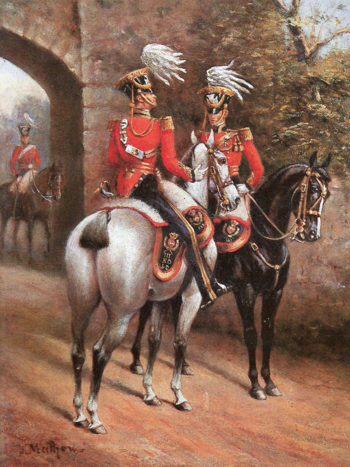 3rd King's Own Light Dragoons: Battle of Kabul 1842 in the First Afghan War