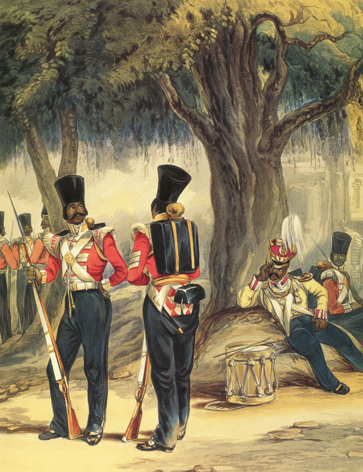 Bengal Native Infantry Regiment: Battle of Ferozeshah on 22nd December 1845 during the First Sikh War