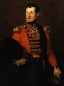 Generl Sir Robert Dick: Battle of Sobraon on 10th February 1846 during the First Sikh War: picture by William Salter