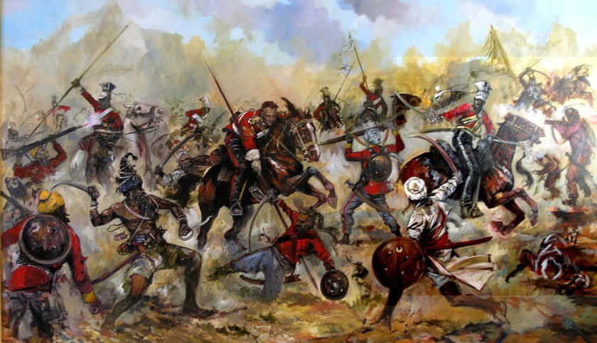Battle of Aliwal on 28th January 1846 in the First Sikh War