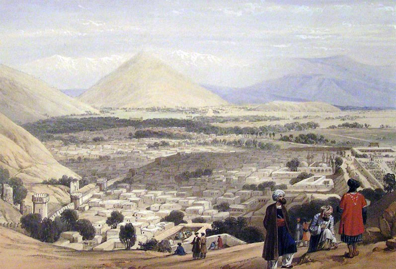 Balar Hissar and Kabul: Battle of Kabul and Retreat to Gandamak 1842 during the First Afghan War