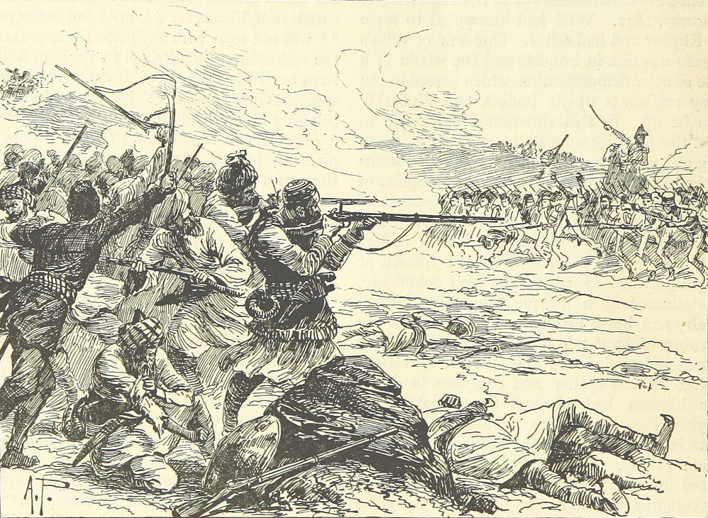 The Sortie from Jellalabad: Siege of Jellalabad from 12th November 1841 to 13th April 1842 during the First Afghan War