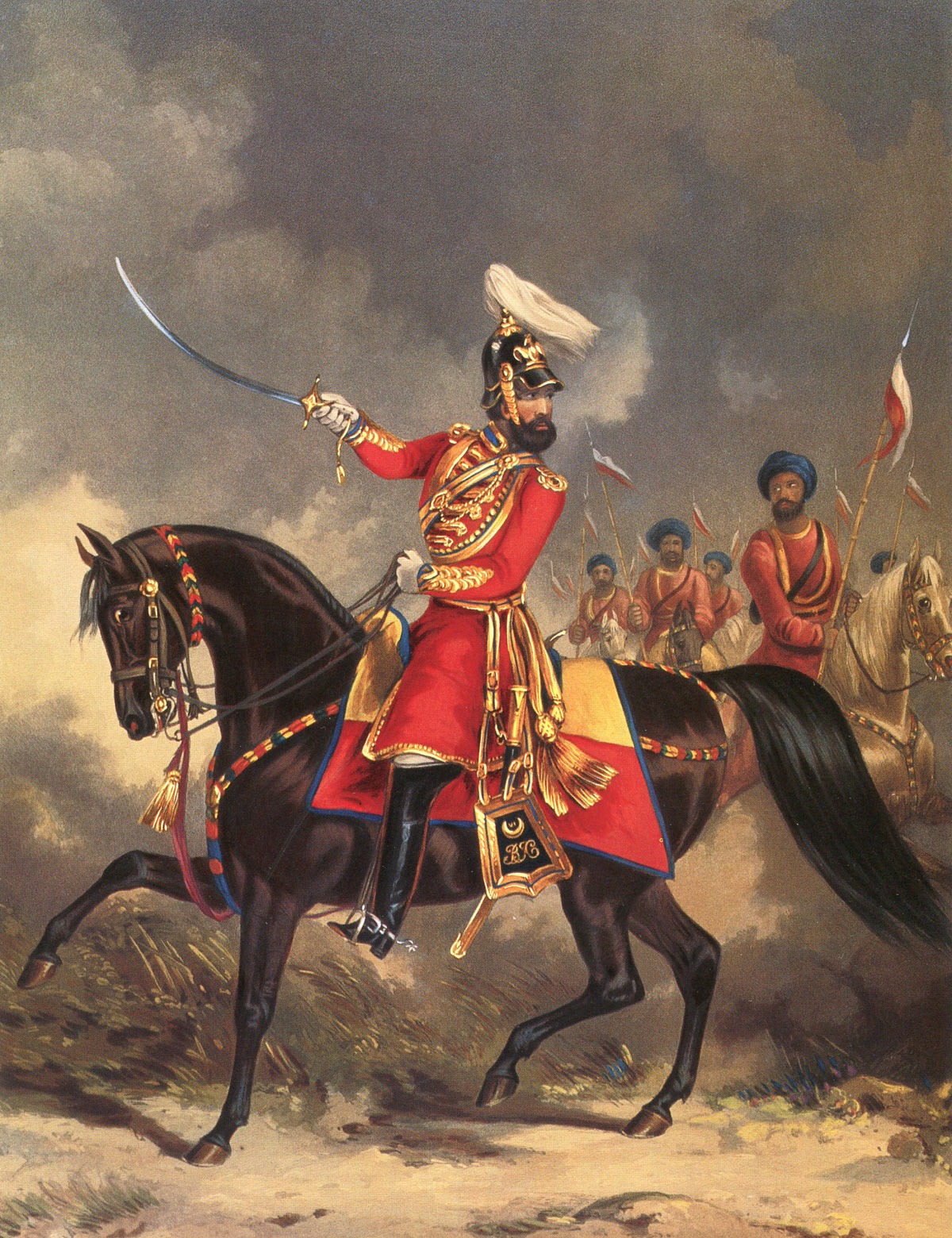 Bengal Irregular Cavalry: Battle of Goojerat on 21st February 1849 during the Second Sikh War