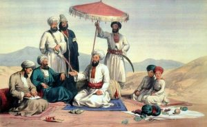 Dost Mohammed and his family: Battle of Ghuznee on 23rd July 1839 in the First Afghan War