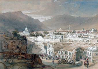 City of Kandahar: Battle of Ghuznee on 23rd July 1839 in the First Afghan War