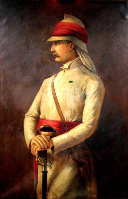 Lieutenant W.S. Hodson: Battle of Goojerat on 21st February 1849 during the Second Sikh War