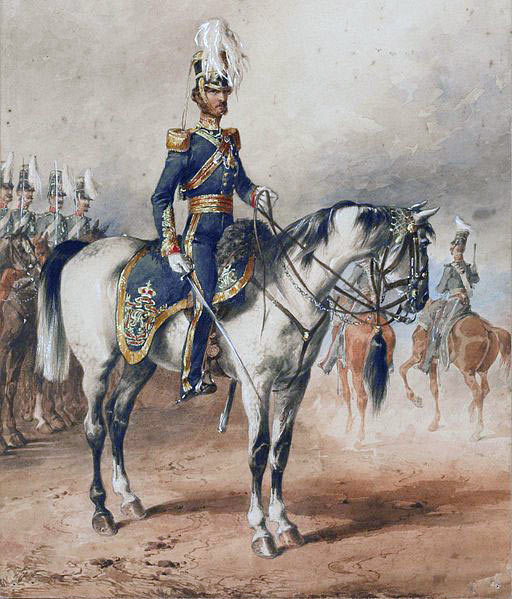 Lord George Paget HM 4th Light Dragoons (Hussars): Battle of Ghuznee on 23rd July 1839 in the First Afghan War