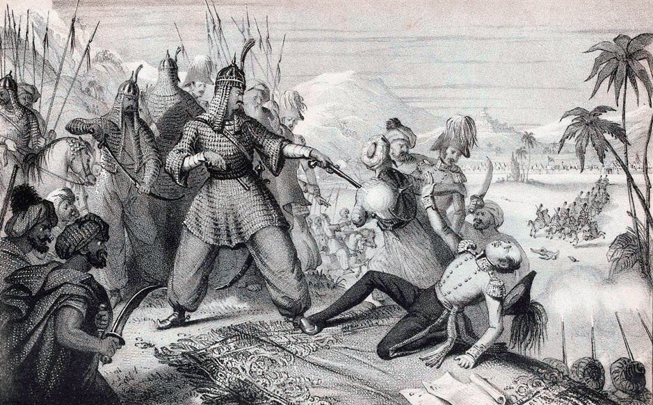 The Murder of Sir William Macnaughten: Battle of Kabul and Retreat to Gandamak 1842 during the First Afghan War