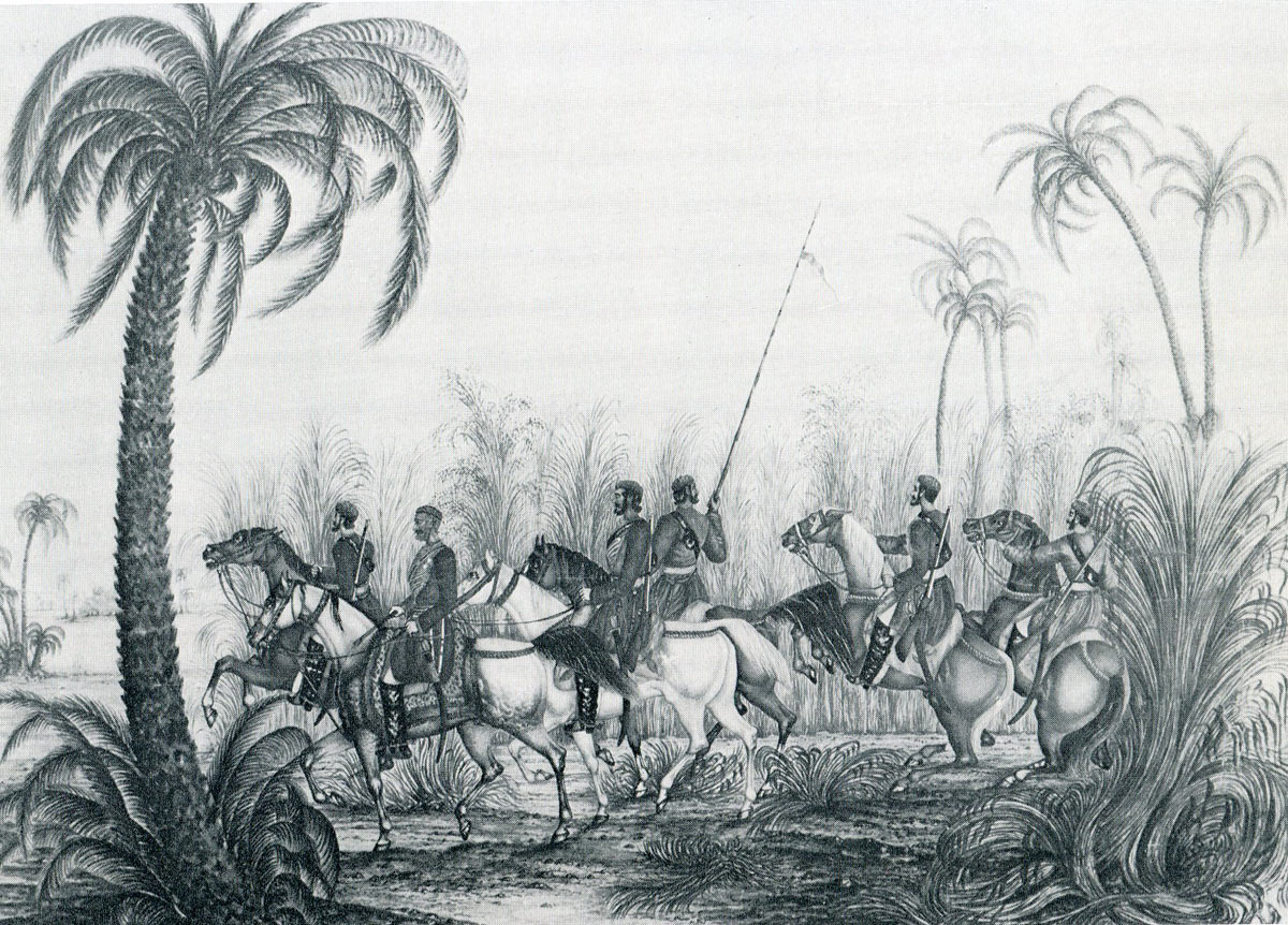 Patrol of Bengal Irregular Horse: Battle of Moodkee on 18th December 1845 during the First Sikh War