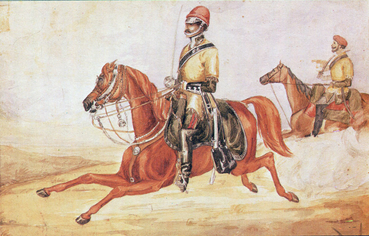 Scinde Irregular Horse: Battle of Goojerat on 21st February 1849 during the Second Sikh War