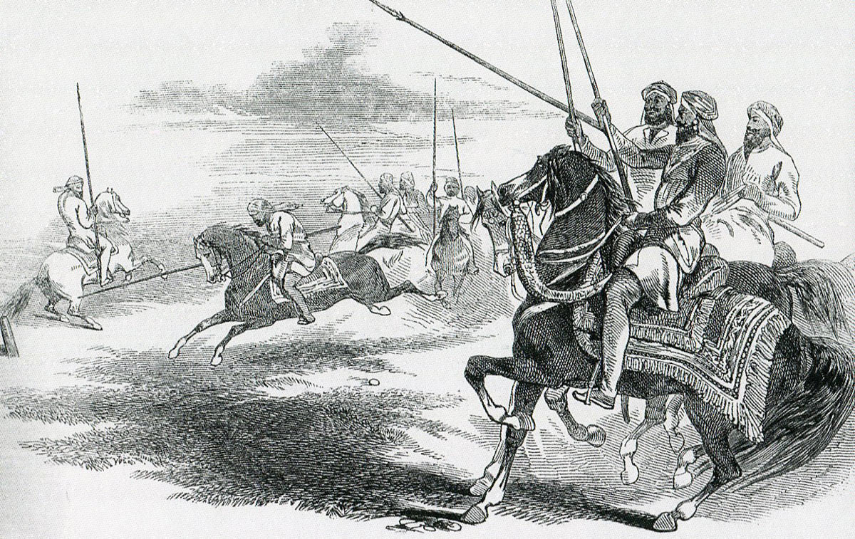 Sikh cavalry: Battle of Ramnagar on 22nd November 1848 during the Second Sikh War