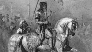 Senior Sikh Officer: Battle of Ferozeshah on 22nd December 1845 during the First Sikh War