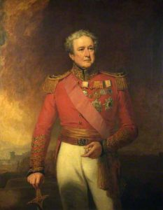 Brigadier Sir Robert Sale: Siege of Jellalabad from 12th November 1841 to 13th April 1842 during the First Afghan War: picture by George Clint