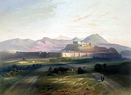 City of Ghuznee: Battle of Ghuznee on 23rd July 1839 in the First Afghan War