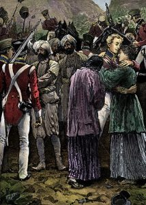 Release of the British prisoners held by the Afghans: Battle of Kabul 1842 in the First Afghan War