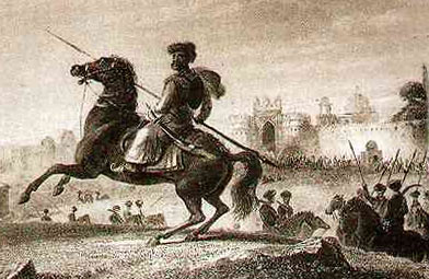 Sikh Gorcharra: Battle of Moodkee on 18th December 1845 during the First Sikh War