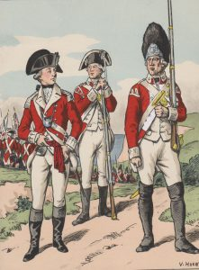 British Marines: Siege of Savannah, September and October 1779 during the American Revolutionary War