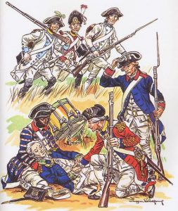 French Regiments at the Siege of Savannah; Armagnac, Hainault, Champagne, du Cap, Walsh and Guadeloupe: September and October 1779 during the American Revolutionary War
