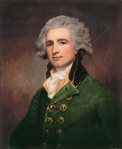 Colonel Robert Arbuthnot: Siege of Charleston April and May 1780 in the American Revolutionary War: picture by George Romney
