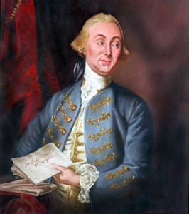 Major Sir James Wright, Royal Governor of Georgia: capture of Savannah on 27th December 1778 during the American Revolutionary War