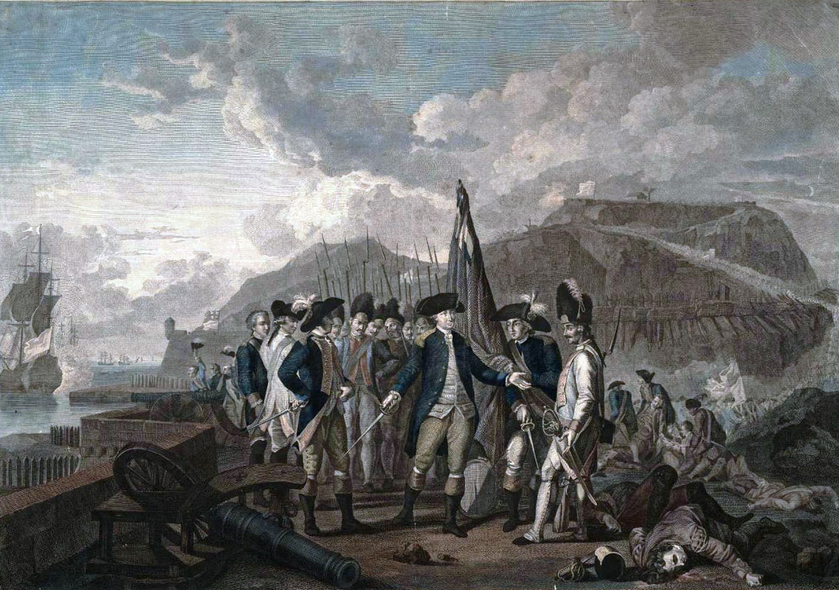 Comte D'Estaing at the Capture of Grenada in 1779