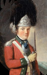 British Grenadier Officer of 63rd Regiment: Siege of Charleston April and May 1780 in the American Revolutionary War