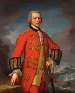 Lieutenant General Sir Henry Clinton: Siege of Charleston April and May 1780 in the American Revolutionary War: picture by Andrea Soldi
