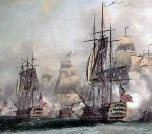 French ships: Siege of Savannah, September and October 1779 during the American Revolutionary War