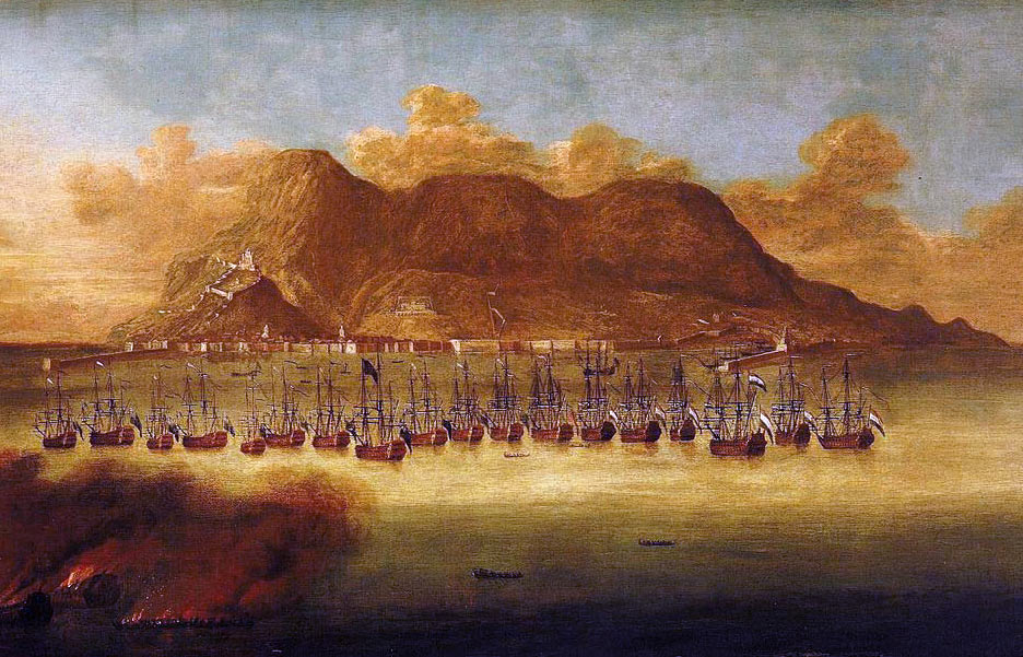 British and Dutch capture of Gibraltar in 1704: the Great Siege of Gibraltar from 1779 to 1783 during the American Revolutionary War
