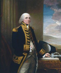 Admiral Lord Howe, commander of the Third Gibraltar Relief Fleet: the Great Siege of Gibraltar from 1779 to 1783 during the American Revolutionary War