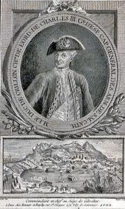 Duc de Crillon, Spanish commander at the Great Siege of Gibraltar 1779 to 1783