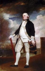 Vice Admiral George Darby, commander of the Second Relief Fleet: the Great Siege of Gibraltar from 1779 to 1783 during the American Revolutionary War